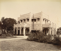 Pavilion, in the Public Park [Vadodara]